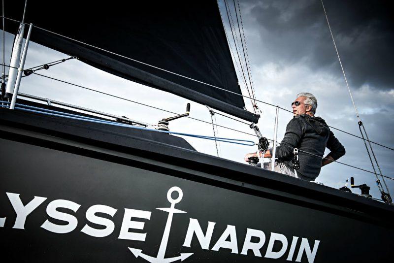 Vela code project with Dan Lenard on board Schia sailing boat