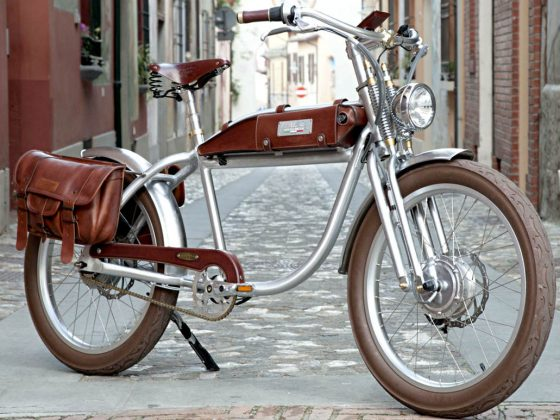 italjet electric bike Ascot model vintage in modernity
