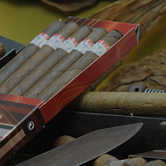 Greek handcrafted premium cigars Vamma del sol