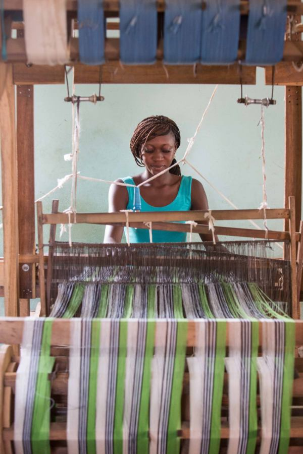 Ethical Fashion Initiative ITC Artisan in Mali